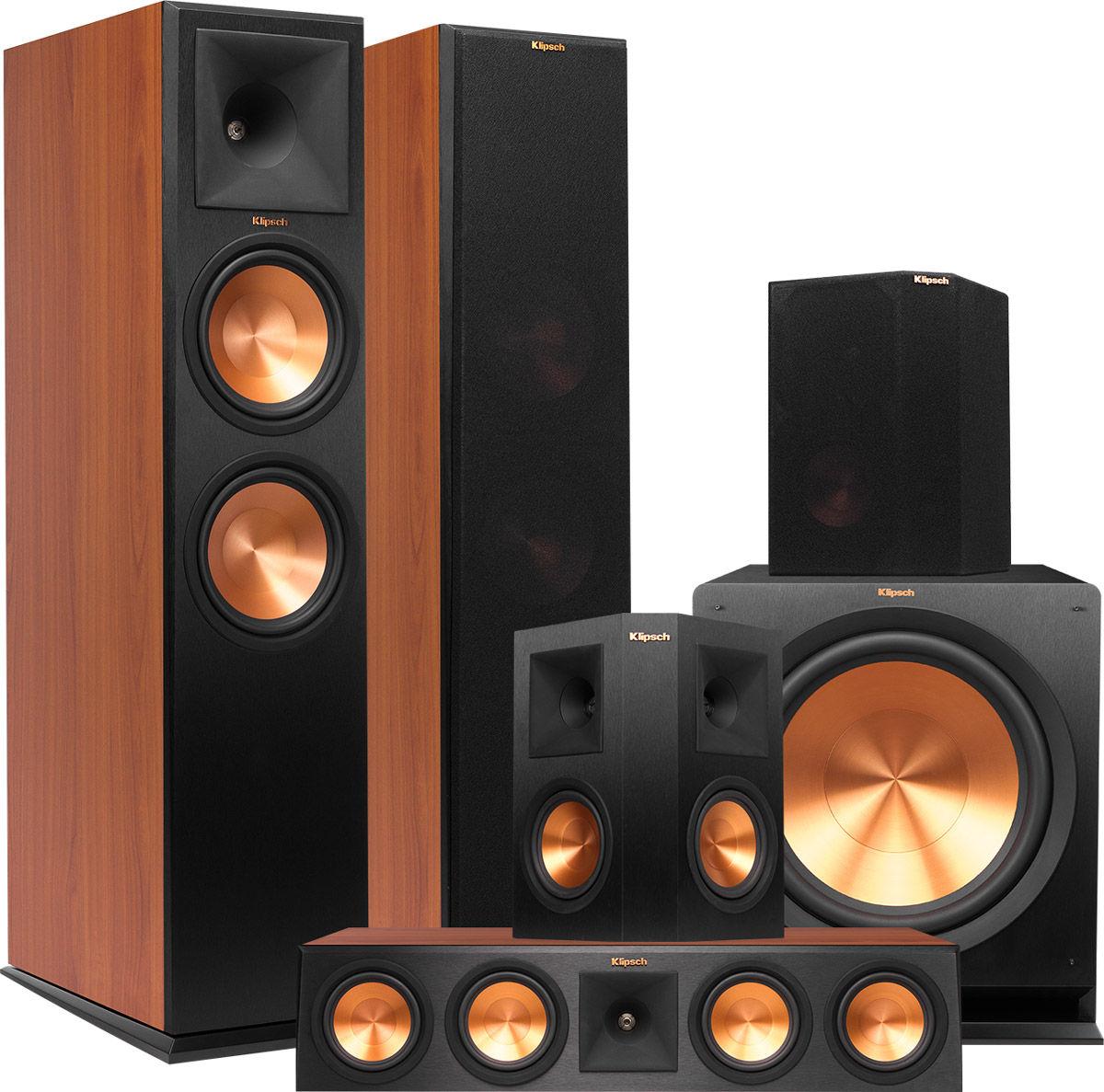 Klipsch Rp 280 Klipsch RP 280F Floorstanding Speaker Ebony Each
